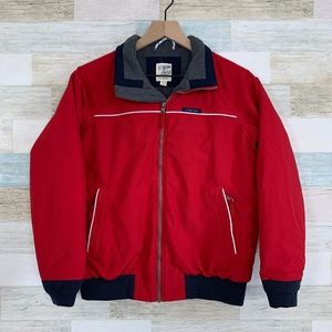 Red Squall Jacket Grow A Long Lands End Kids